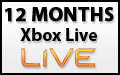 12 Month Xbox Live