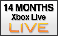 14 Month Xbox Live