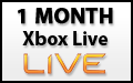 1 Month Xbox Live