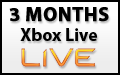 3 Month Xbox Live